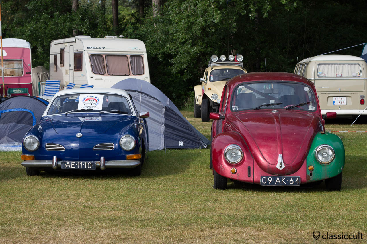 VW Karmann-Ghia Type 14 and Bug, Int. Kever Weekend