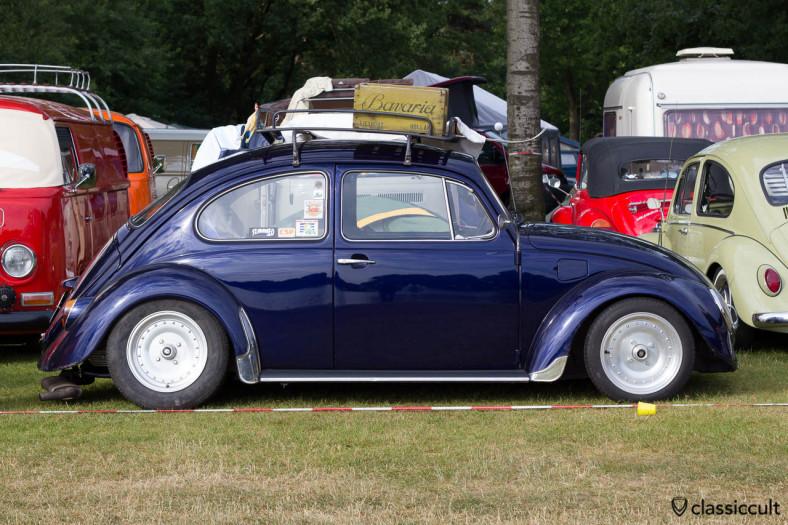VW Beetle with Centerline Wheels, Wanroij 2013