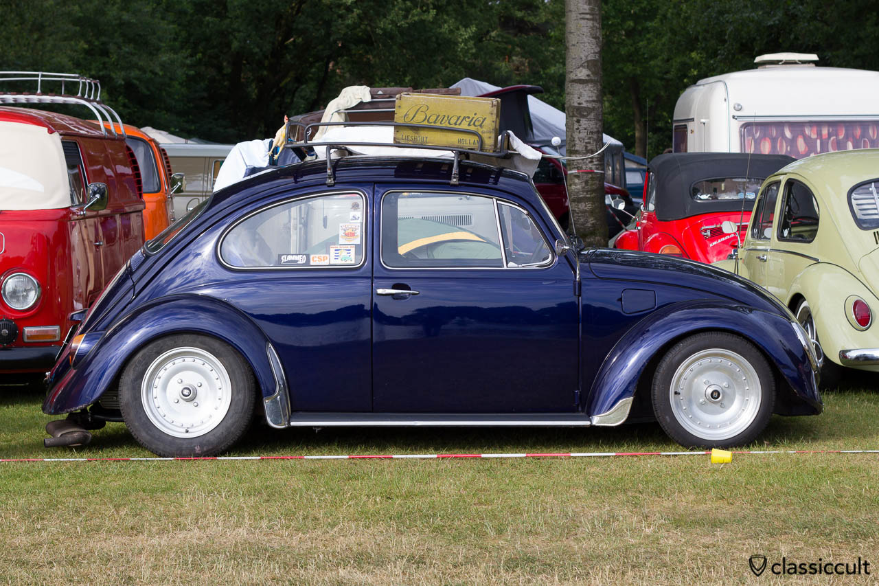 VW Beetle with Centerline Wheels, Wanroij 2013