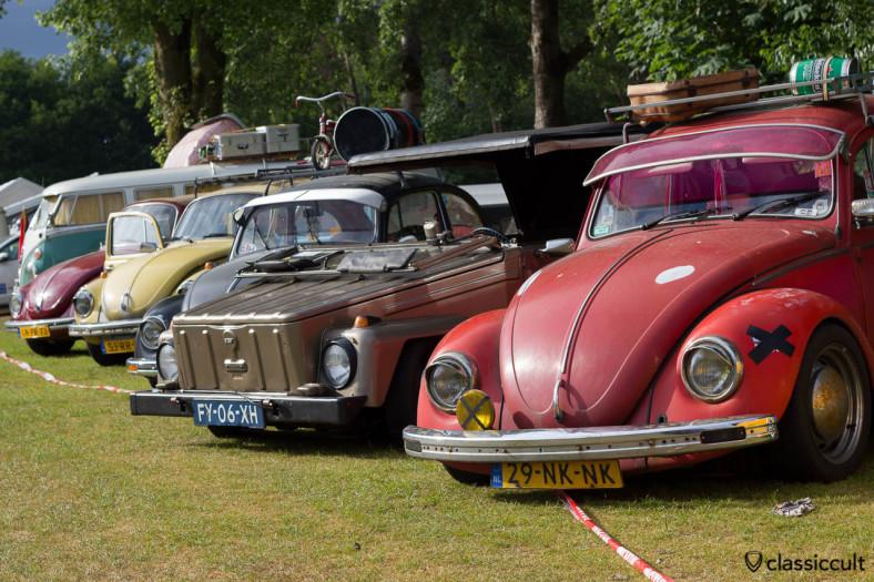 Classic VW Lineup, Wanroij 2013