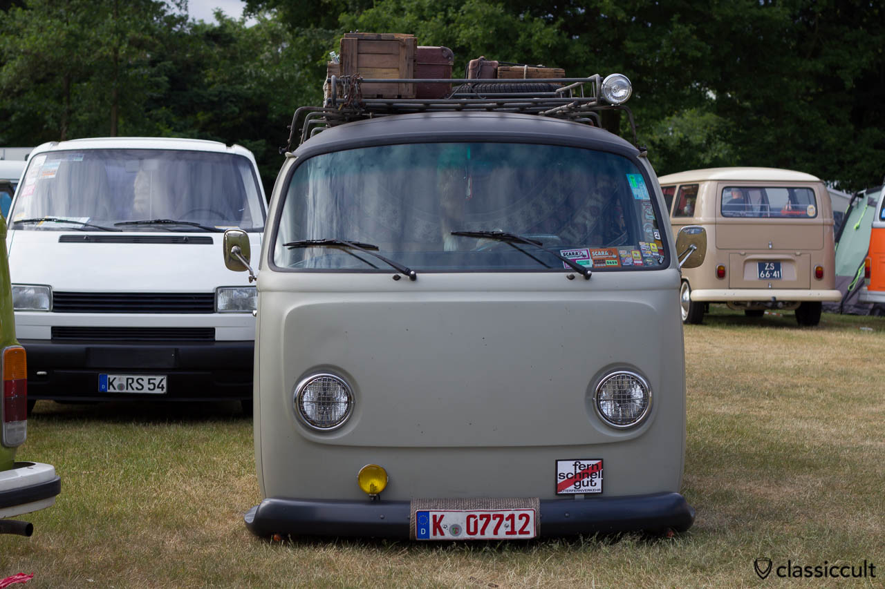 "German VW T2 Panel Van ""fern schnell gut"", IKWWanroij"