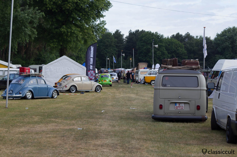 classic Volkswagen at the lake of Int. Kever Weekend