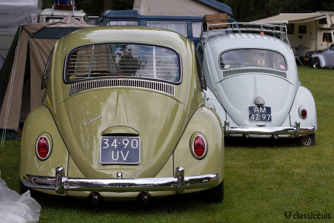 VW 1300 with pop out window and jalousie, Wanroij Budel 2013
