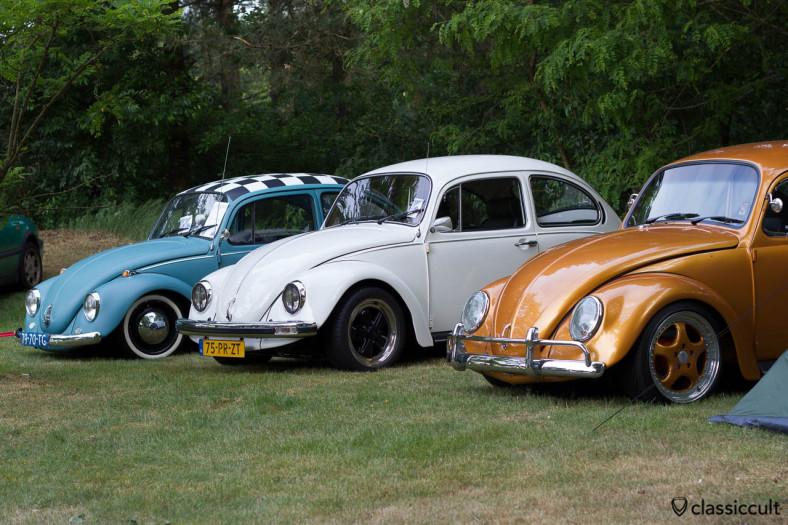 golden VW Kever, Int. Kever Weekend IKW