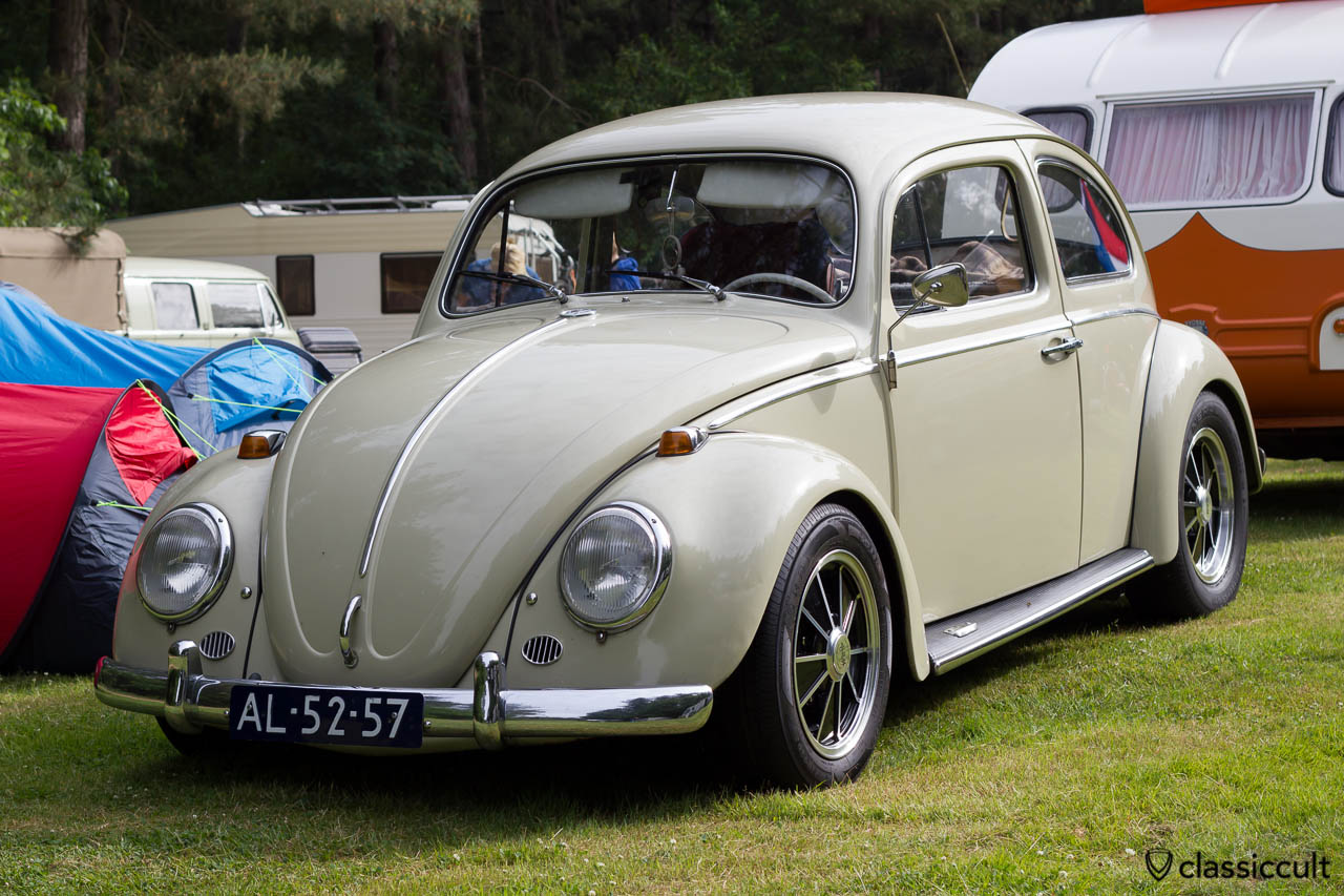 VW Bug with Empi Cosmic wheels