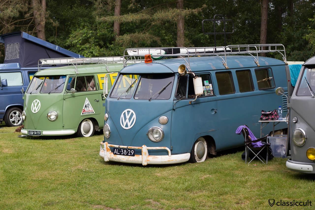 slammed VW T1 Kombi, aircooled folks camp, IKW 2013