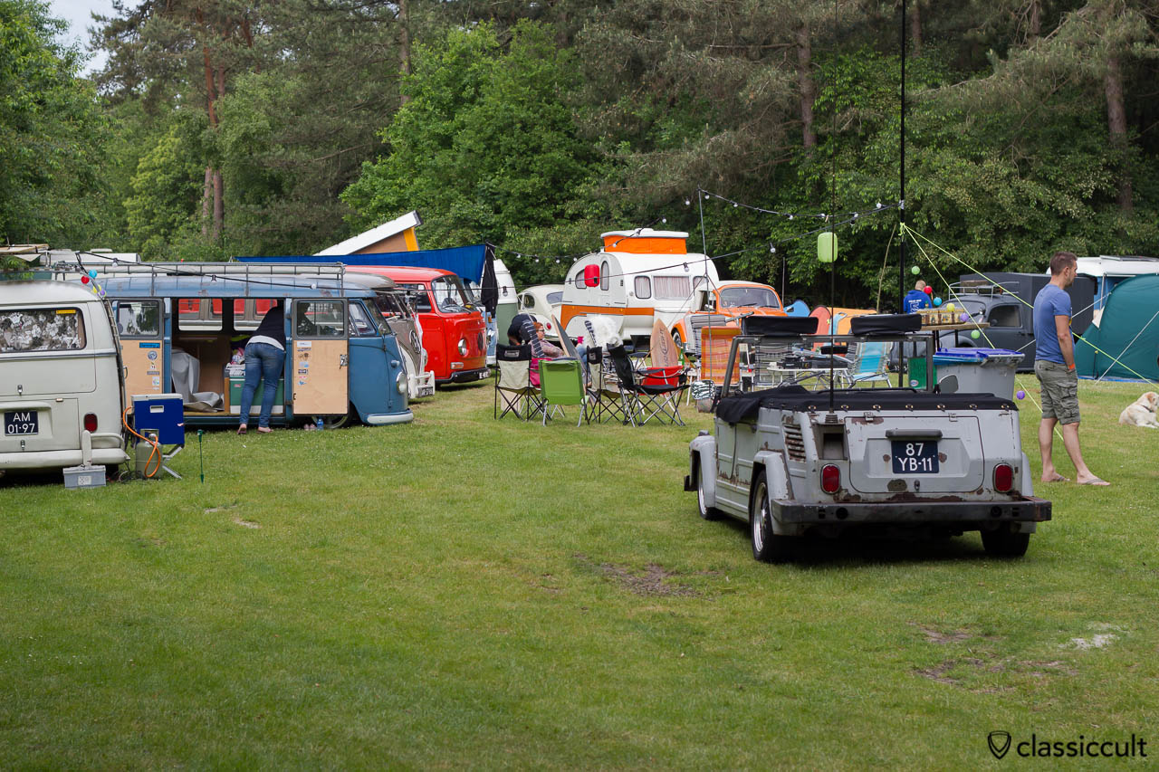 aircooled folks camping site, IKW 2013