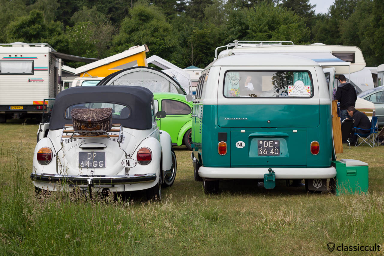 1978 VW 1303 and VW Bus at IKW Wanroij