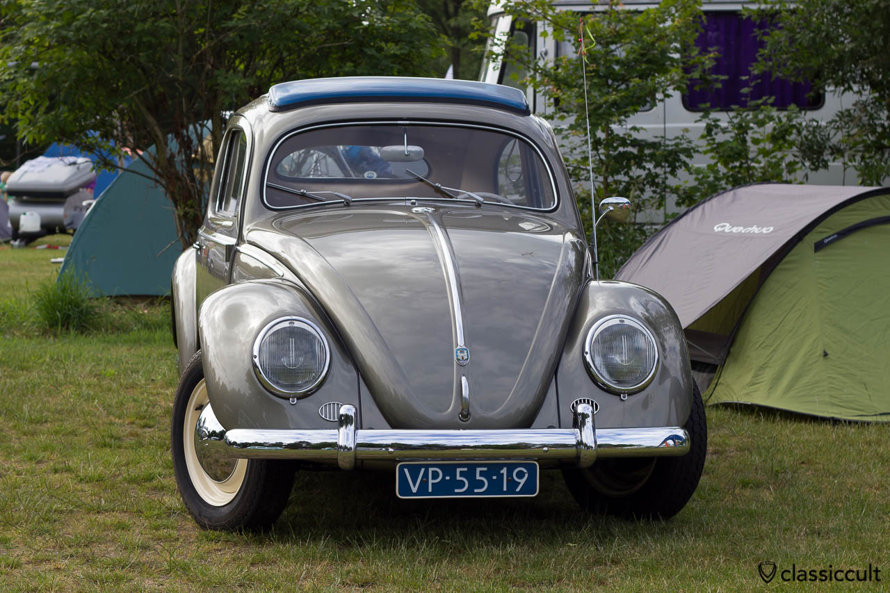 VW Oval Bug frontside, IKW Beetle Weekend