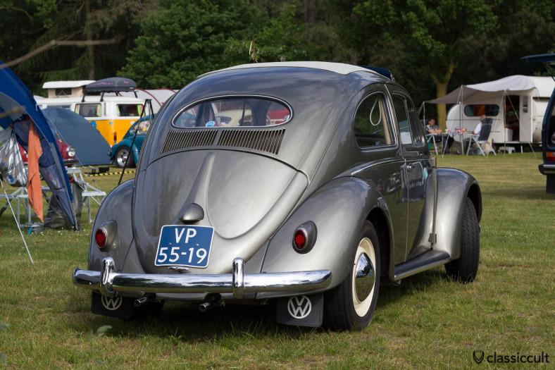 superb VW Oval Bug backside, IKW Beetle Weekend