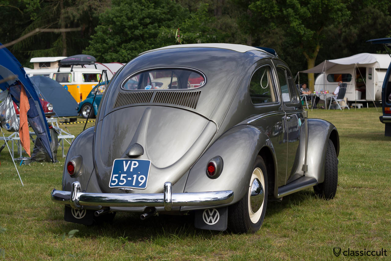 superb VW Oval Bug backside, IKW Beetle Weekend