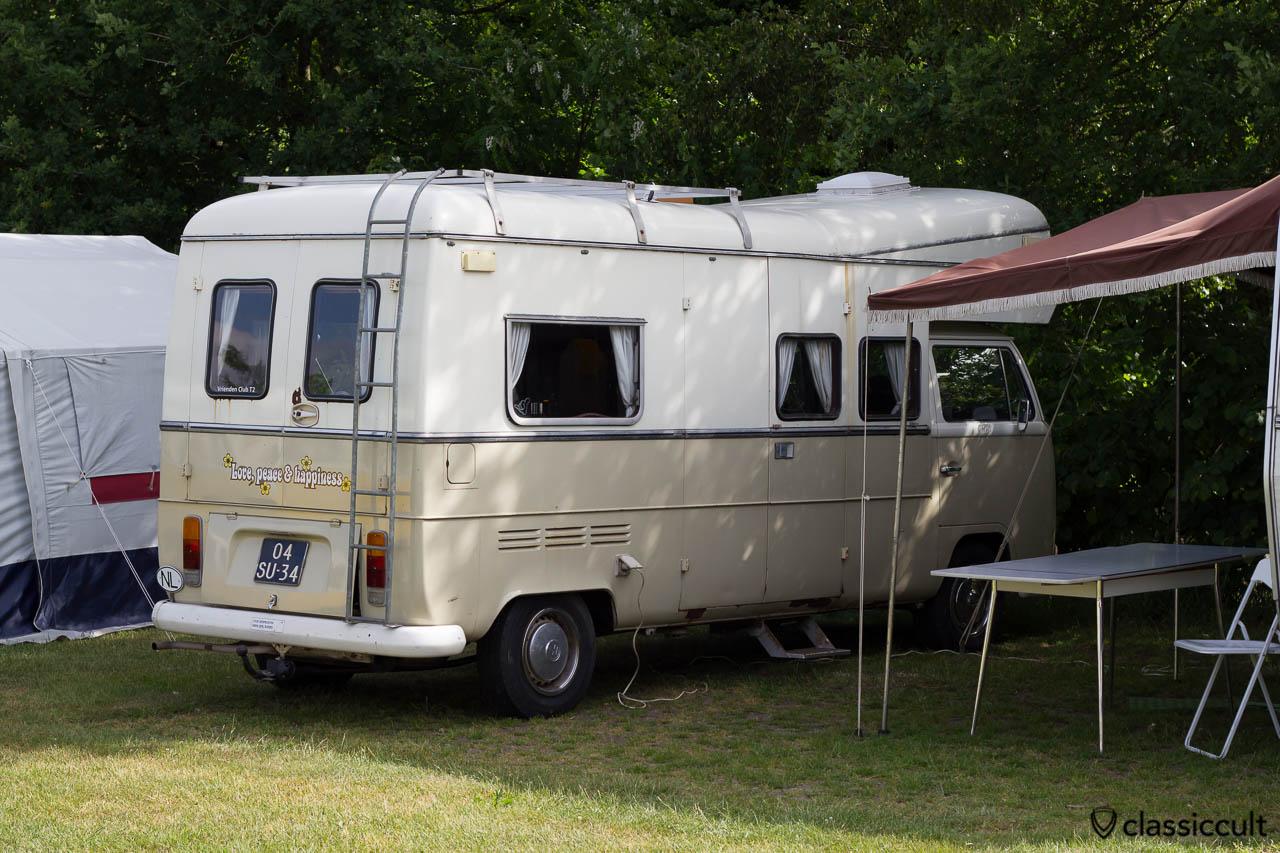 Custom VW T2 Camper Van IKW 2013