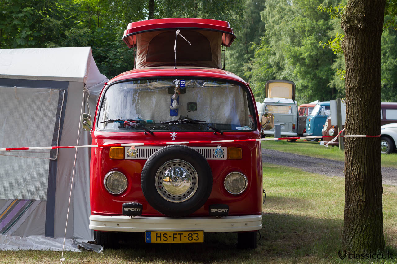 VW T2b Camper with Fog Lights