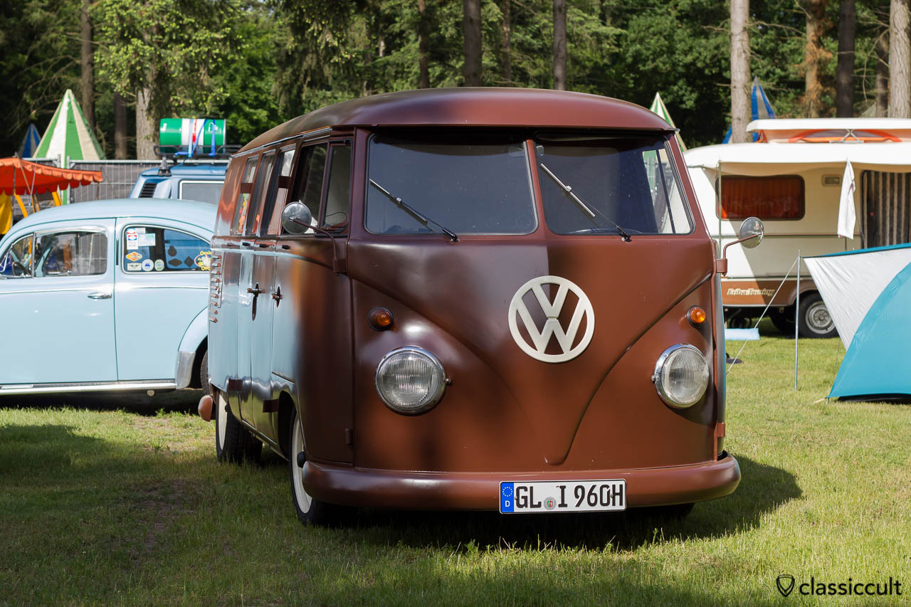 VW T1 Split Bus from Bergisch Gladbach Germany