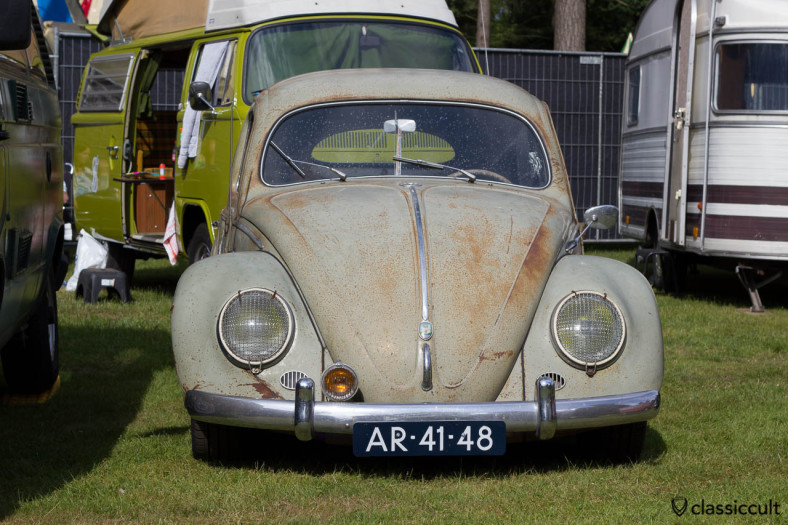 VW Oval Beetle with patina