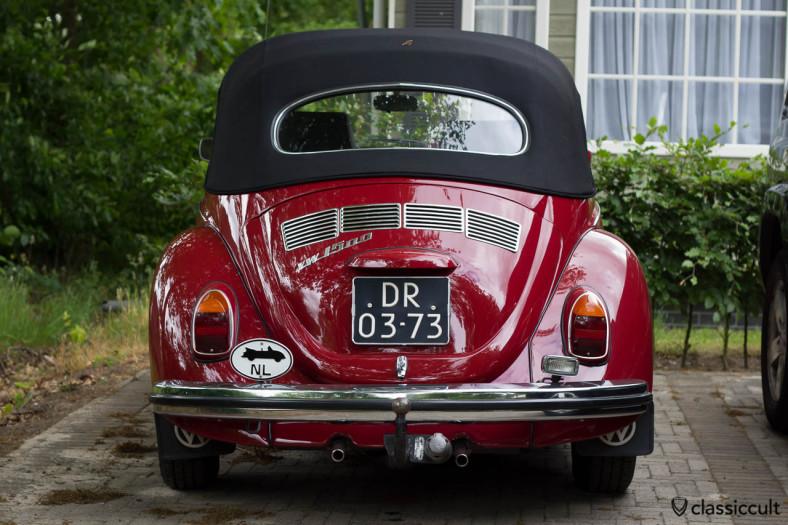 VW 1500 Beetle Cabrio