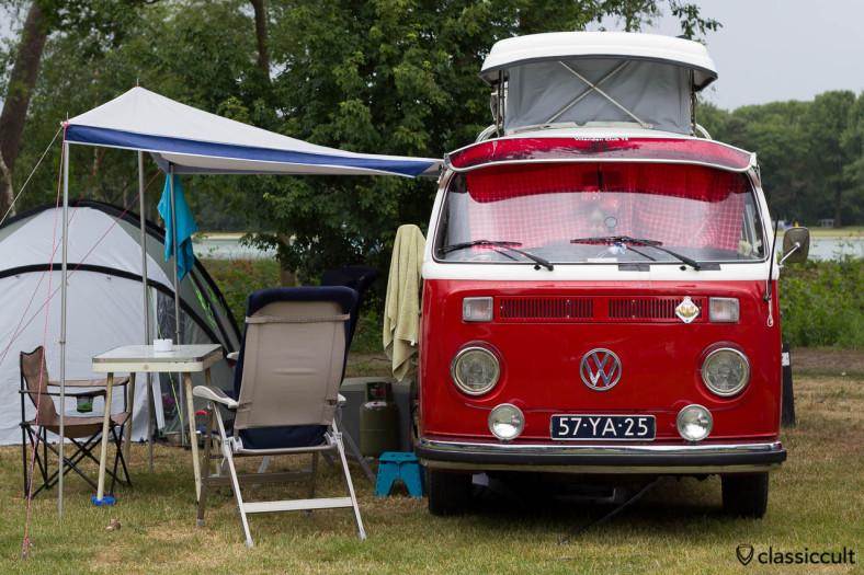 VW T2 Camper Bus with Fog Lights