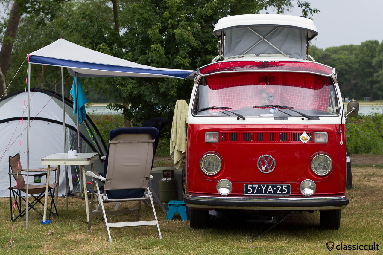 VW T2 Camper Bus with Fog Lights