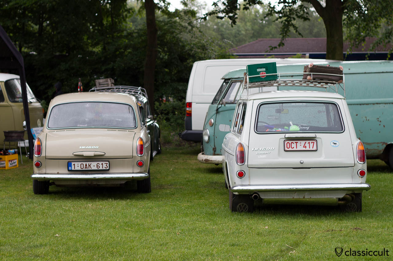 VW 1600 Notchback and VW 1600 Variant Squareback