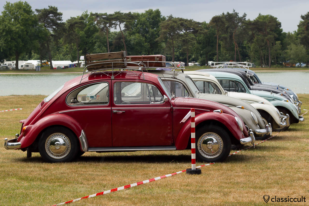 VW Beetles at IKW Vintage Show