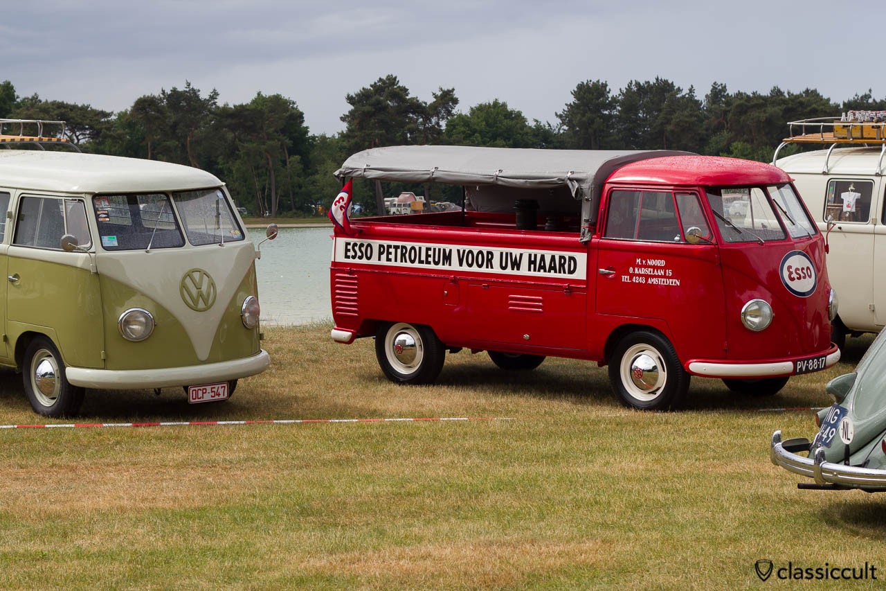 VW T1 Single cabs ESSO PETROLEUM VOOR UW HAARD