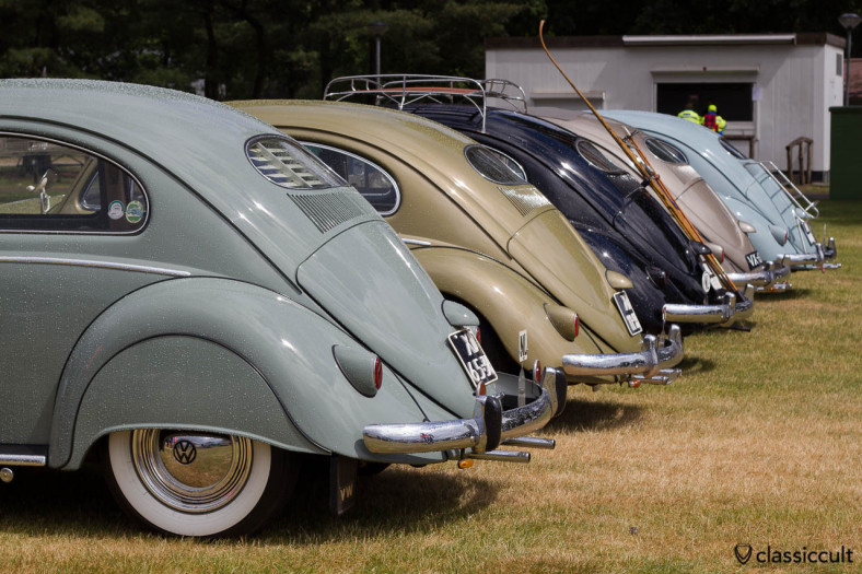 Line Up of VW Oval