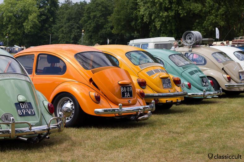 Custom Vintage Show VW Beetle Line-up at IKW 2013