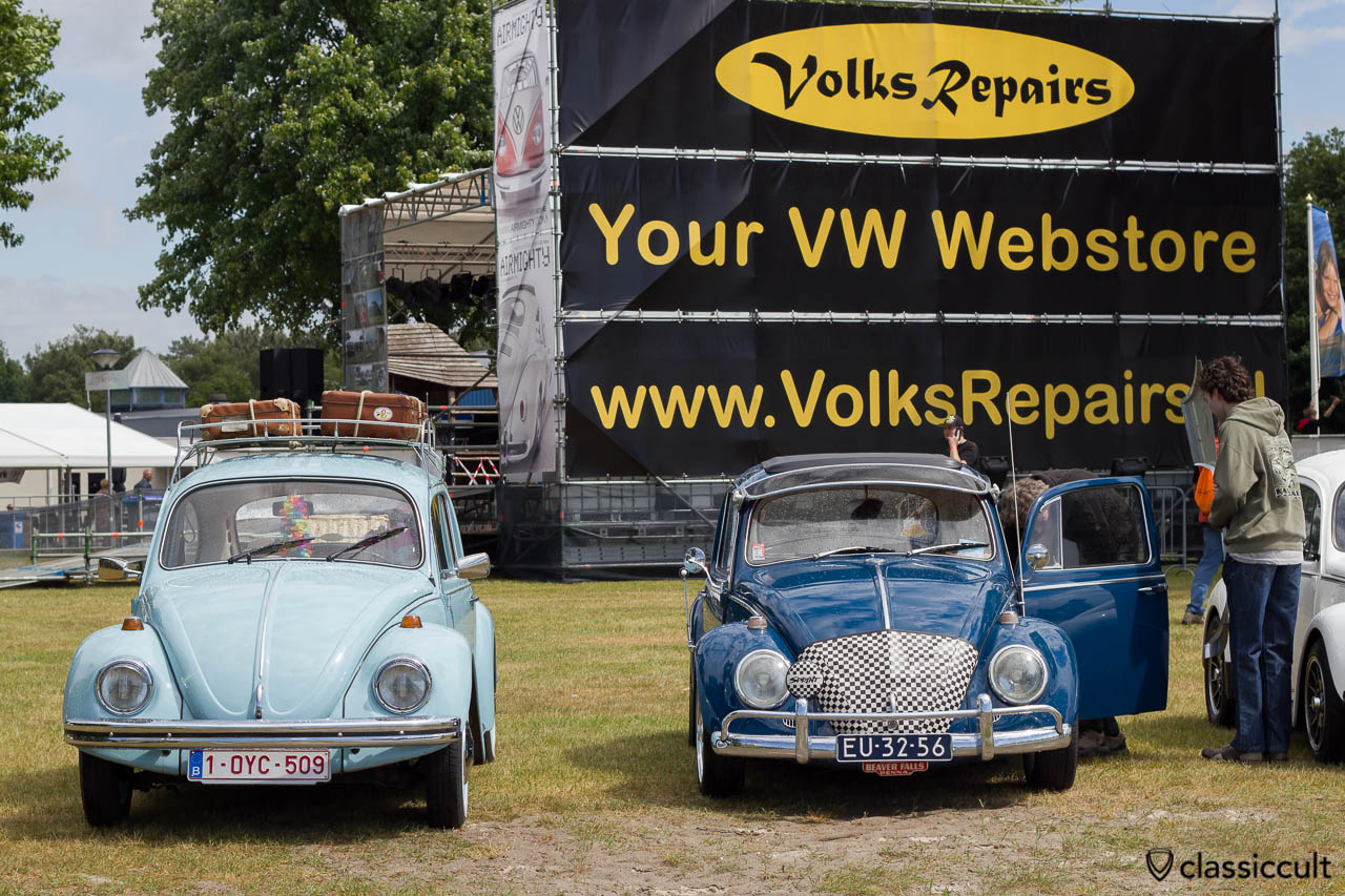 VW Beetles and VolksRepairs Advertisement