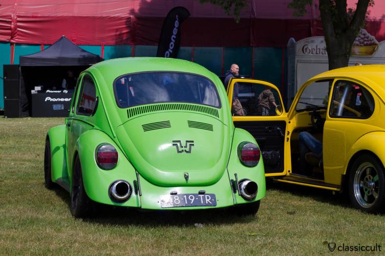 VW Beetle at Custom Vintage Show, WOW