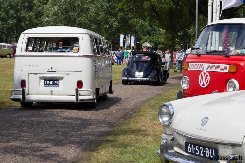 IKW 2013 VW Split Bus and Oval Bug cruising
