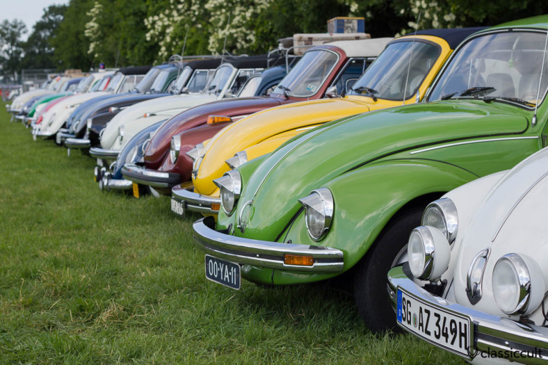 IKW 2013 VW Kever line-up