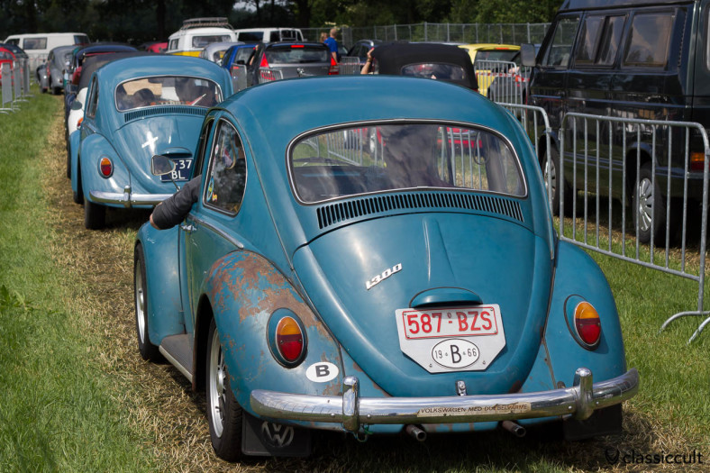 VW 1300 with patina
