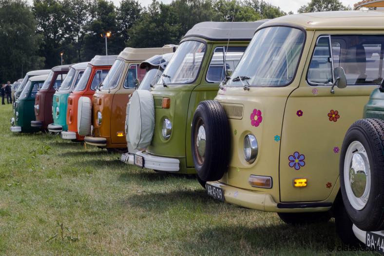 VW Bay Window Line-up
