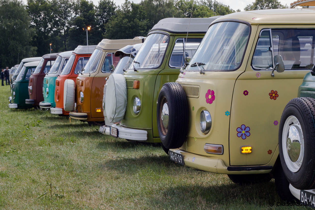 VW Bay Window Line-up