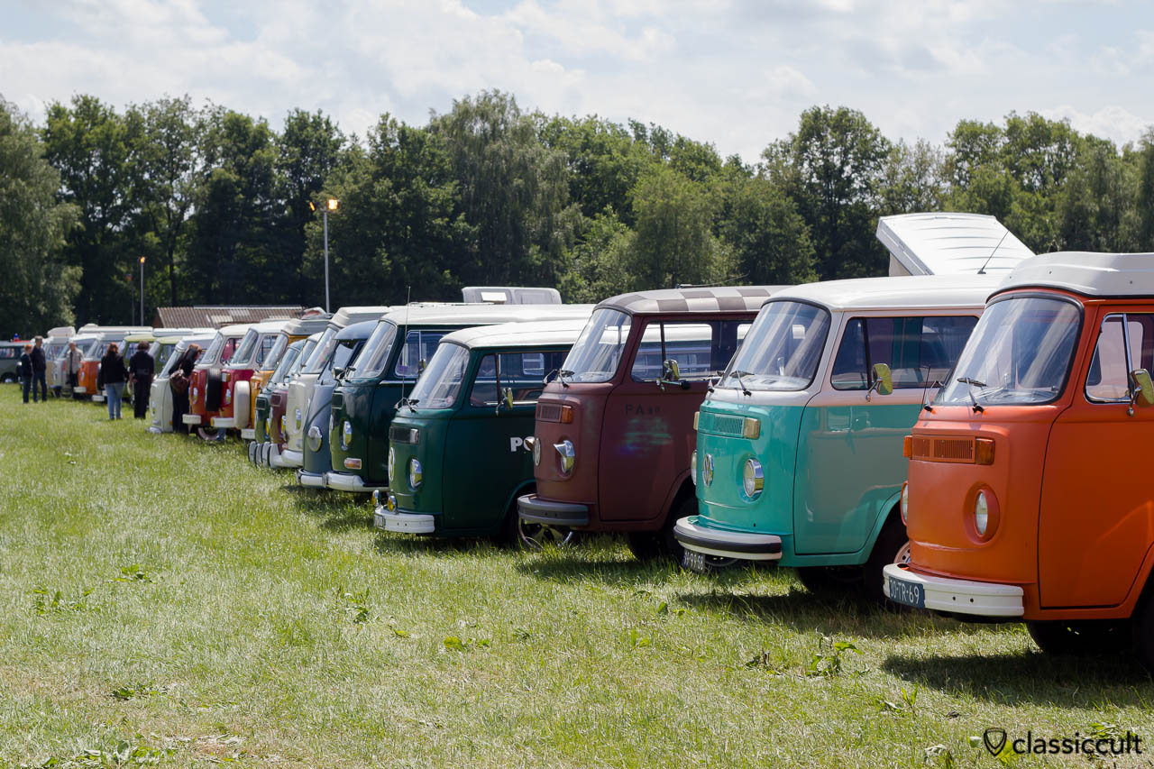 VW Split and Bay Bus Line-up