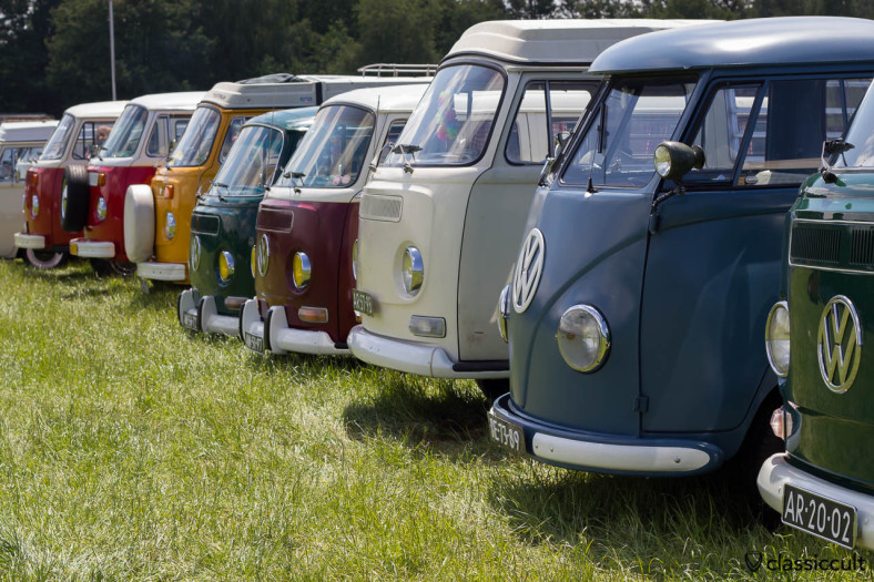 IKW Wanroij 2013 VW Bus Line-up