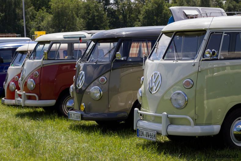 VW Split Window Buses at IKW 2013