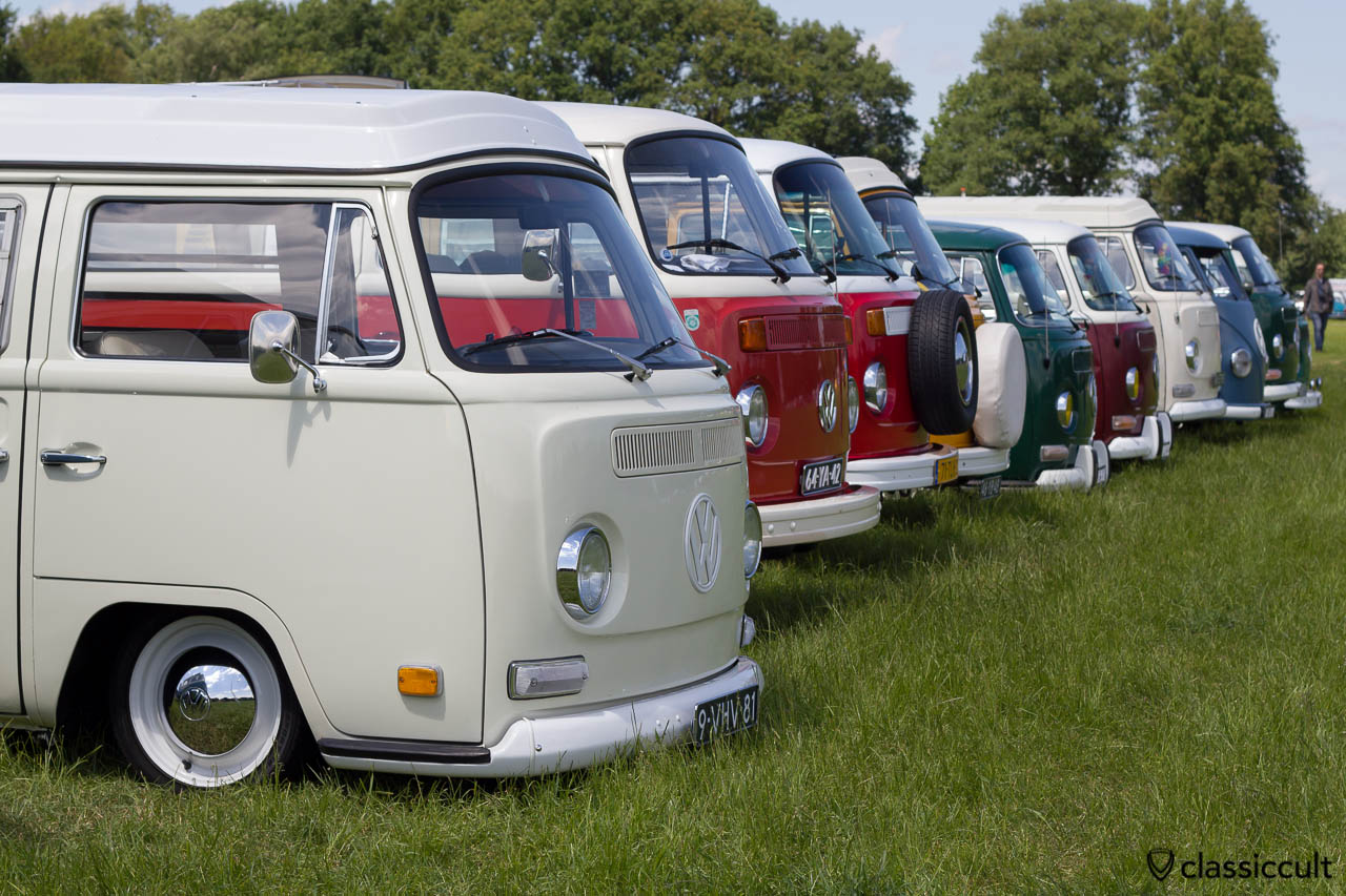 IKW 2013 VW Bay Window Bus Line-up
