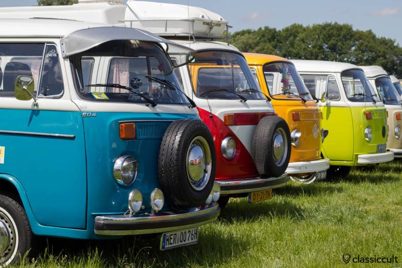 VW Camper Buses at IKW car park