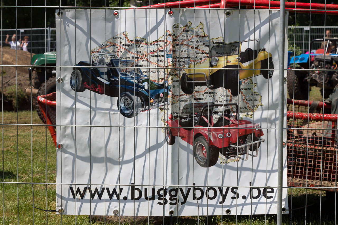 buggyboys.be advertising banner at the IKW Wanroij Buggy Pit