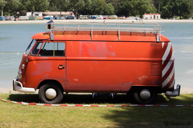 VW T1 Panel Van with roof rack