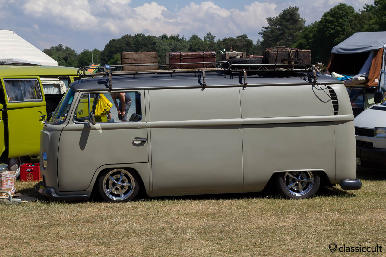 Volkswagen T2 Bay Panel with roof rack
