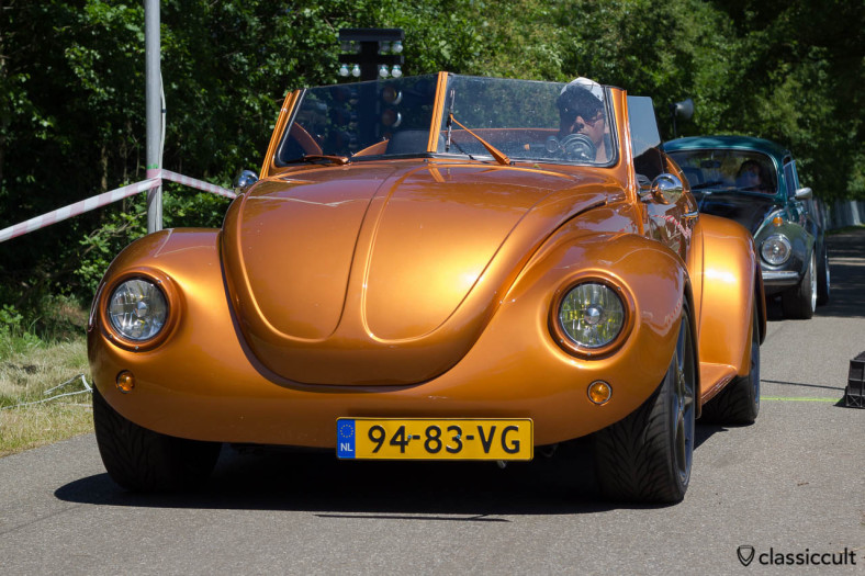VW Racing Speedster at the sprint race of the Wanroij Kever Weekend