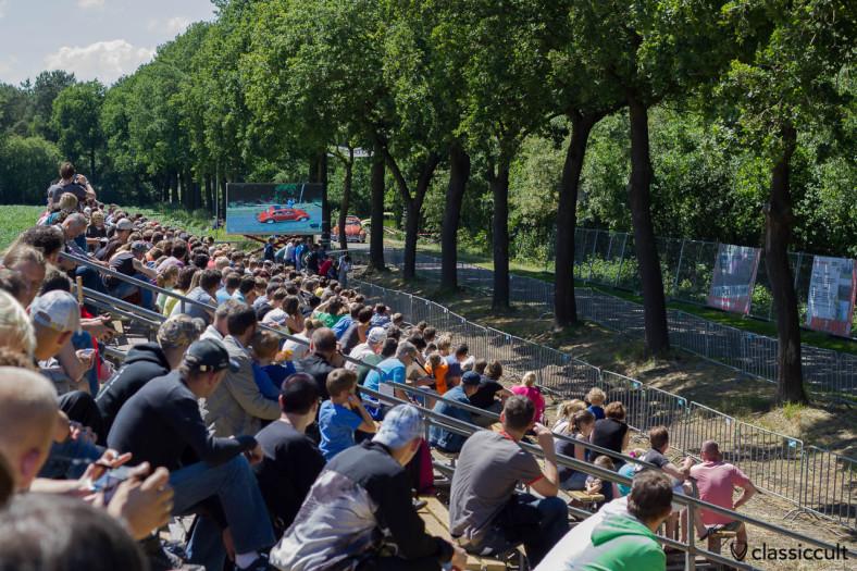 Sprint / Drag Race tribune at International Kever Weekend (IKW) Wanroij