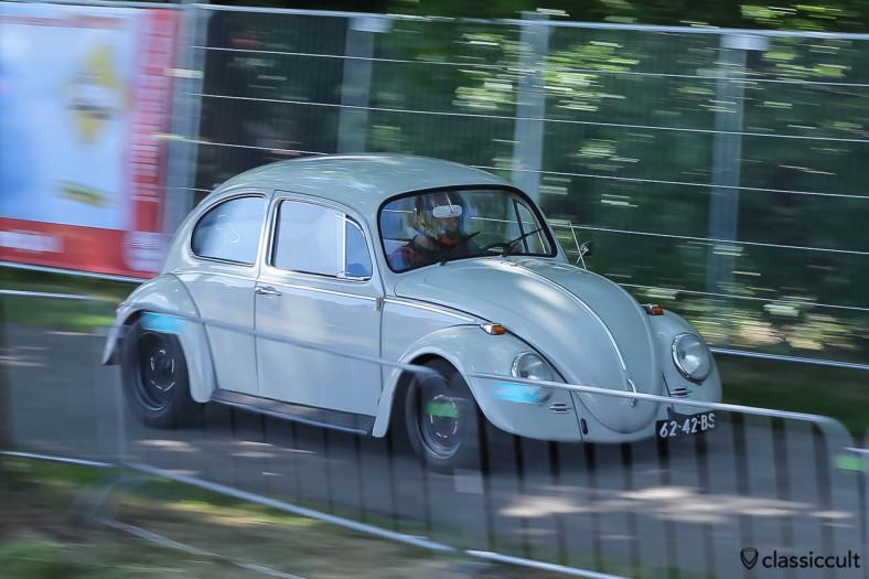 VW Beetle Sprint Racing at International Beetle Weekend (IKW) Wanroij