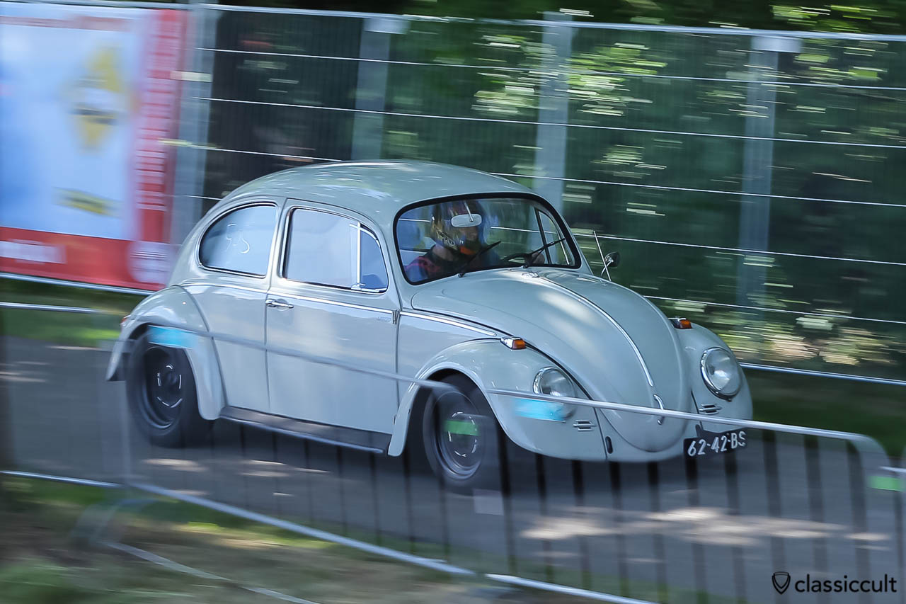 VW Beetle Sprint Racing at International Beetle Weekend (IKW) Wanroij