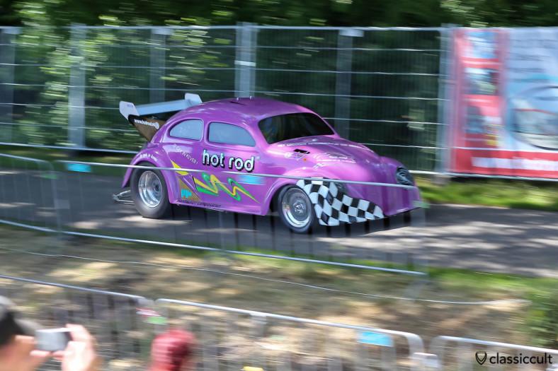 VW hot rod Race Bug Sprint Racing at IKW Wanroij
