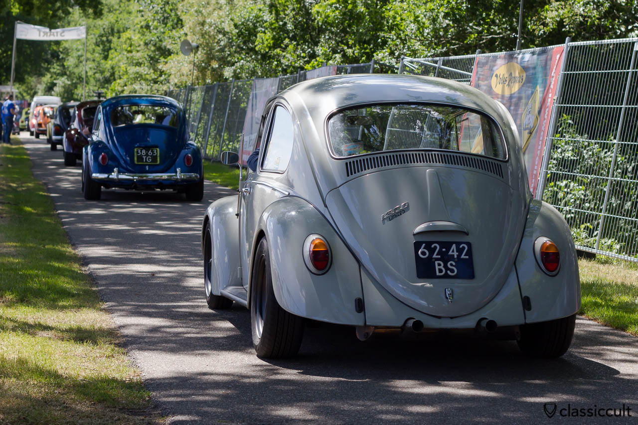 VW 1300 Race Bug at IKW Internationaal Kever Weekend Wanroij