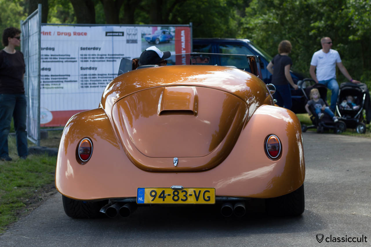 VW Race Speedster rear side, Sprint IKW Internationaal Kever Weekend Wanroij
