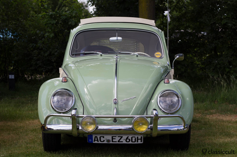 Ragtop Beetle with Hella fog lights from Aachen Germany